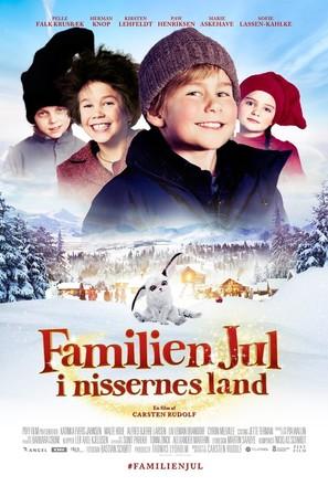 Familien Jul: i nissernes land - Danish Movie Poster (thumbnail)