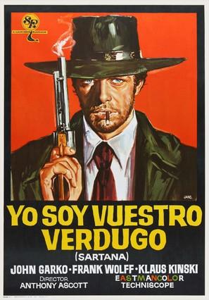 Sono Sartana, il vostro becchino - Spanish Movie Poster (thumbnail)