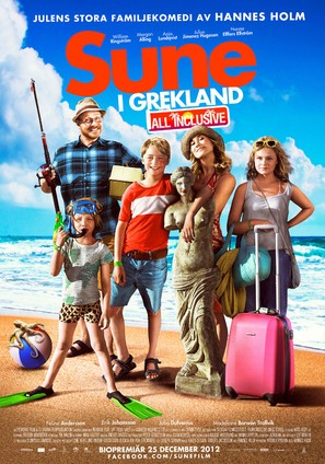 Sune i Grekland - All Inclusive - Swedish Movie Poster (thumbnail)