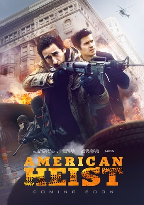American Heist - Movie Poster (thumbnail)