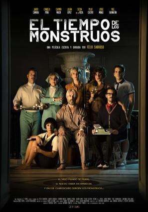 El tiempo de los monstruos - Spanish Movie Poster (thumbnail)