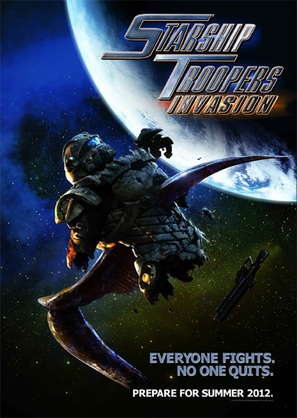 Starship Troopers: Invasion - Movie Poster (thumbnail)