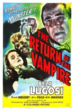 The Return of the Vampire - Movie Poster (thumbnail)