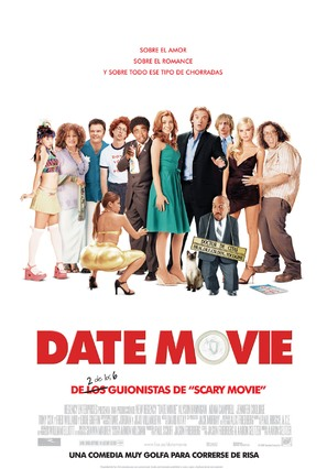 Date Movie - Spanish Movie Poster (thumbnail)