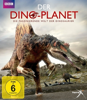 """Planet Dinosaur"" - German Blu-Ray cover (thumbnail)"