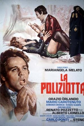 La poliziotta - Italian Movie Poster (thumbnail)