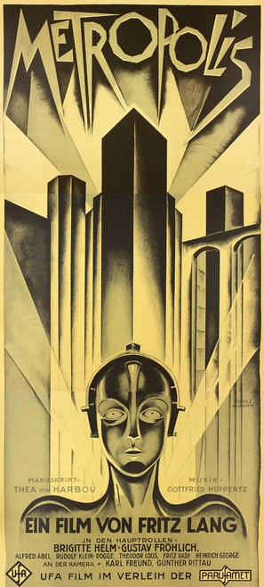 Metropolis - German Movie Poster (thumbnail)