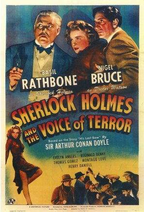 Sherlock Holmes and the Voice of Terror - Movie Poster (thumbnail)