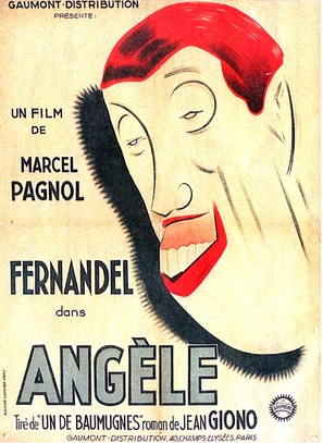 Angèle - French Movie Poster (thumbnail)