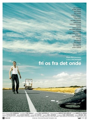 Fri os fra det onde - Danish Movie Poster (thumbnail)