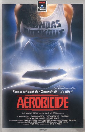 Killer Workout - German Movie Cover (thumbnail)