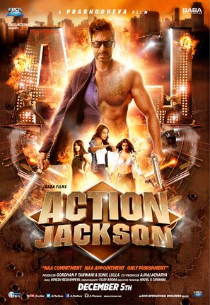Action Jackson - Indian Movie Poster (thumbnail)