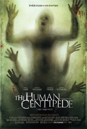 The Human Centipede (First Sequence) - Movie Poster (thumbnail)