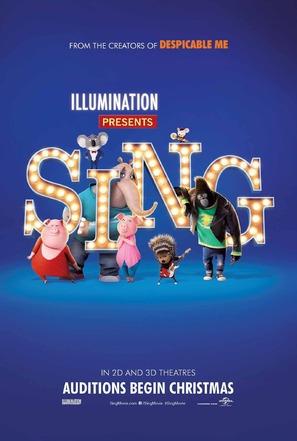 Sing - Movie Poster (thumbnail)