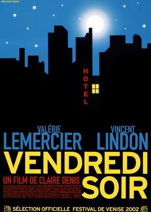 Vendredi soir - French Movie Poster (thumbnail)