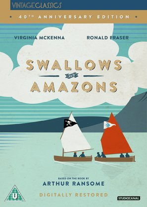 Swallows and Amazons - British DVD cover (thumbnail)