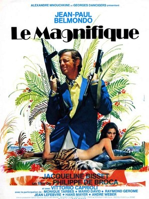 Le magnifique - French Movie Poster (thumbnail)