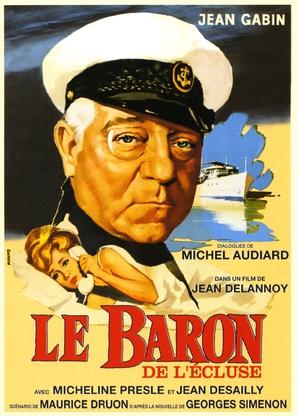 Le baron de l'écluse - French Movie Poster (thumbnail)