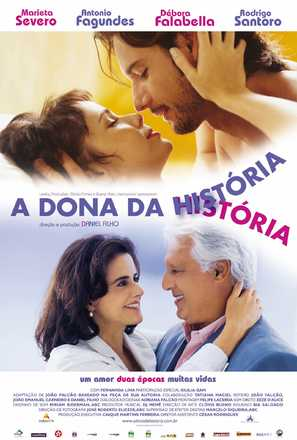 A Dona da História - Brazilian poster (thumbnail)