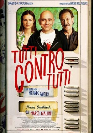 Tutti contro tutti - Italian Movie Poster (thumbnail)