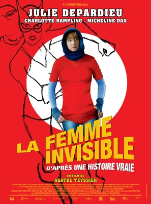 La femme invisible - French Movie Poster (thumbnail)