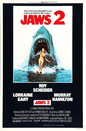 Jaws 2 - Movie Poster (thumbnail)
