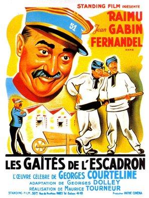 Les gaietés de l'escadron - French Movie Poster (thumbnail)