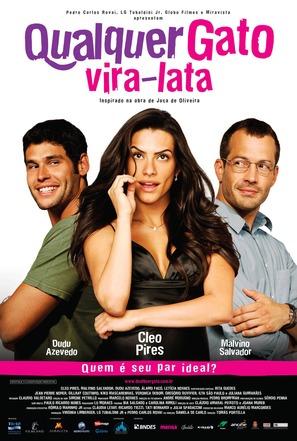 Qualquer Gato Vira-Lata - Brazilian Movie Poster (thumbnail)