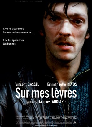 Sur mes lèvres - French Movie Poster (thumbnail)