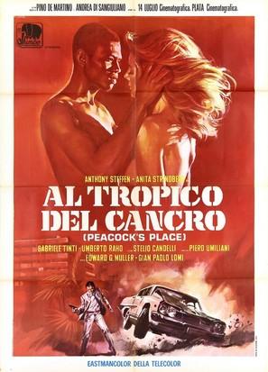 Al tropico del cancro - Italian Movie Poster (thumbnail)