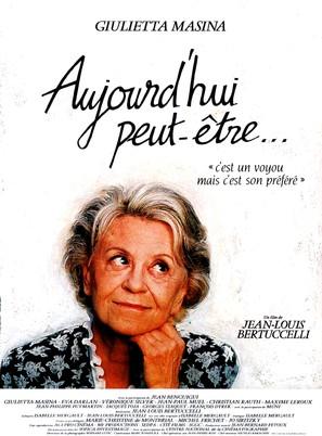 Aujourd'hui peut-être... - French Movie Poster (thumbnail)