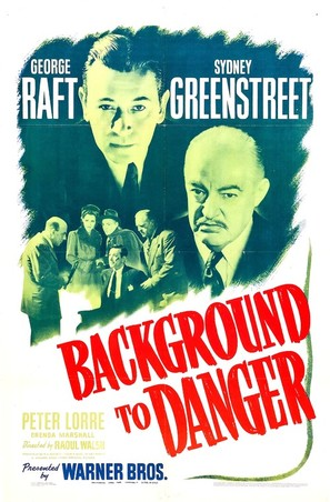 Background to Danger - Movie Poster (thumbnail)