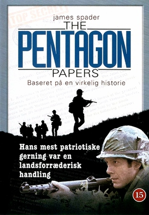 The Pentagon Papers - Danish Movie Cover (thumbnail)