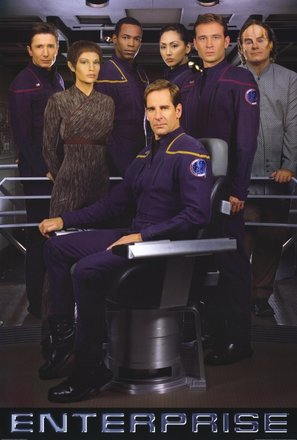 """Star Trek: Enterprise"" - Movie Poster (thumbnail)"