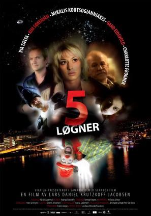 5 løgner - Norwegian poster (thumbnail)