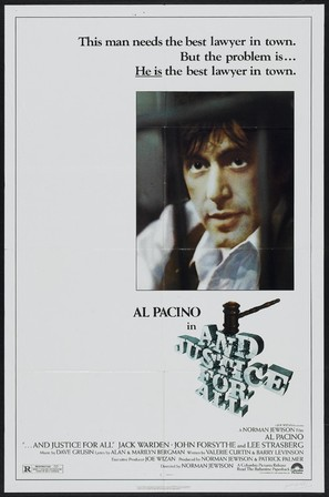 ...And Justice for All - Movie Poster (thumbnail)