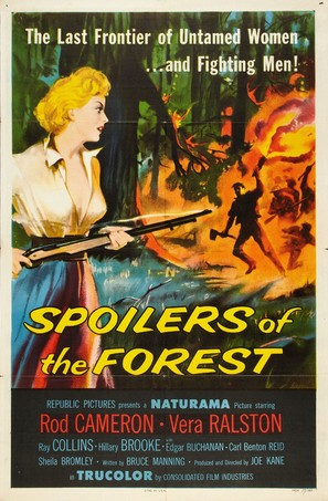 Spoilers of the Forest - Movie Poster (thumbnail)