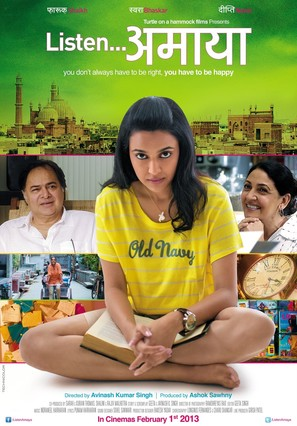 Listen Amaya - Indian Movie Poster (thumbnail)