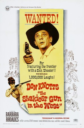 The Shakiest Gun in the West - Movie Poster (thumbnail)