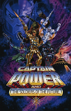 """""""Captain Power and the Soldiers of the Future"""" - Movie Poster (thumbnail)"""
