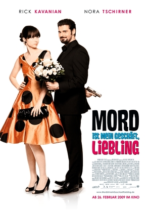Mord ist mein Geschäft, Liebling - German Movie Poster (thumbnail)