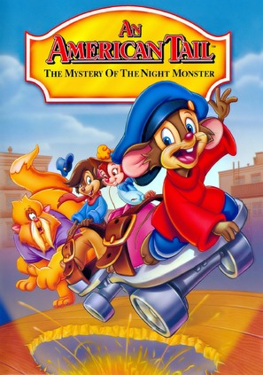 An American Tail: The Mystery of the Night Monster - DVD movie cover (thumbnail)