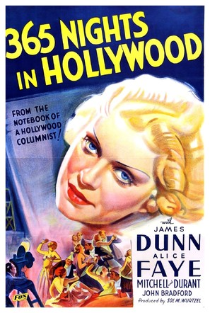 365 Nights in Hollywood - Movie Poster (thumbnail)
