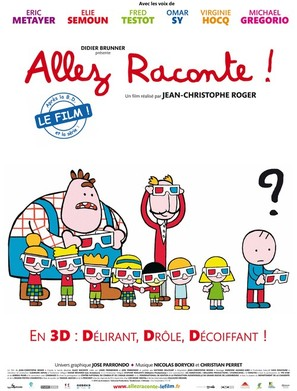 Allez raconte! - French Movie Poster (thumbnail)