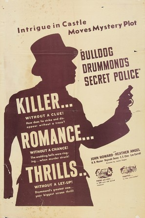 Bulldog Drummond's Secret Police - Movie Poster (thumbnail)