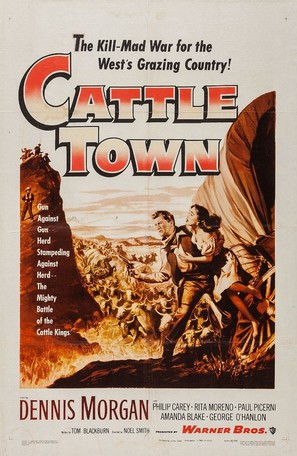 Cattle Town - Movie Poster (thumbnail)