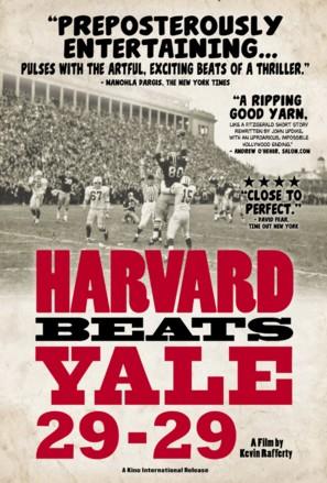 Harvard Beats Yale 29-29 - Movie Poster (thumbnail)
