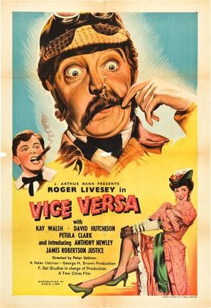 Vice Versa - British Movie Poster (thumbnail)