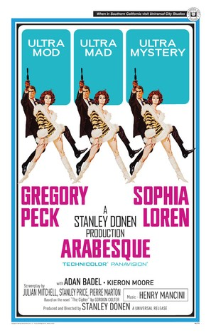 Arabesque - Movie Poster (thumbnail)