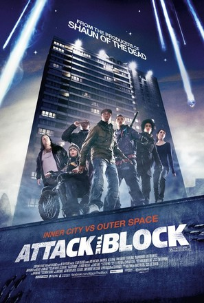 Attack the Block - British Movie Poster (thumbnail)